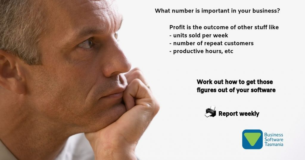 Key Performance Indicators work out how to get those figures out of your software